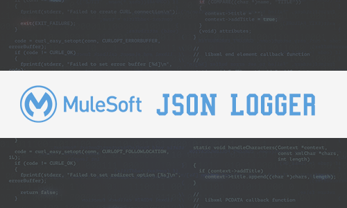 JSON Logger in MuleSoft