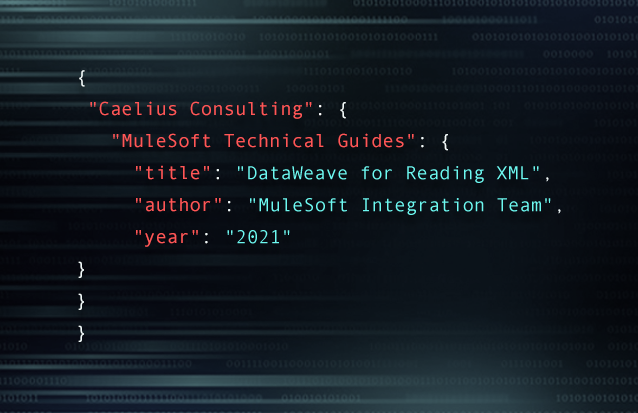 DataWeave for reading XML