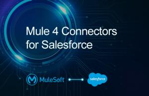 Mule 4 connectors for Salesforce